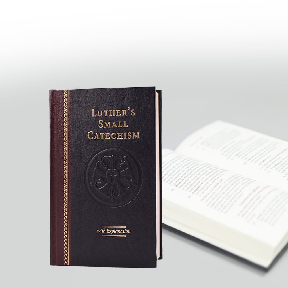 Luther's Small Catechism with Explanation, 2017 Edition Hardback
