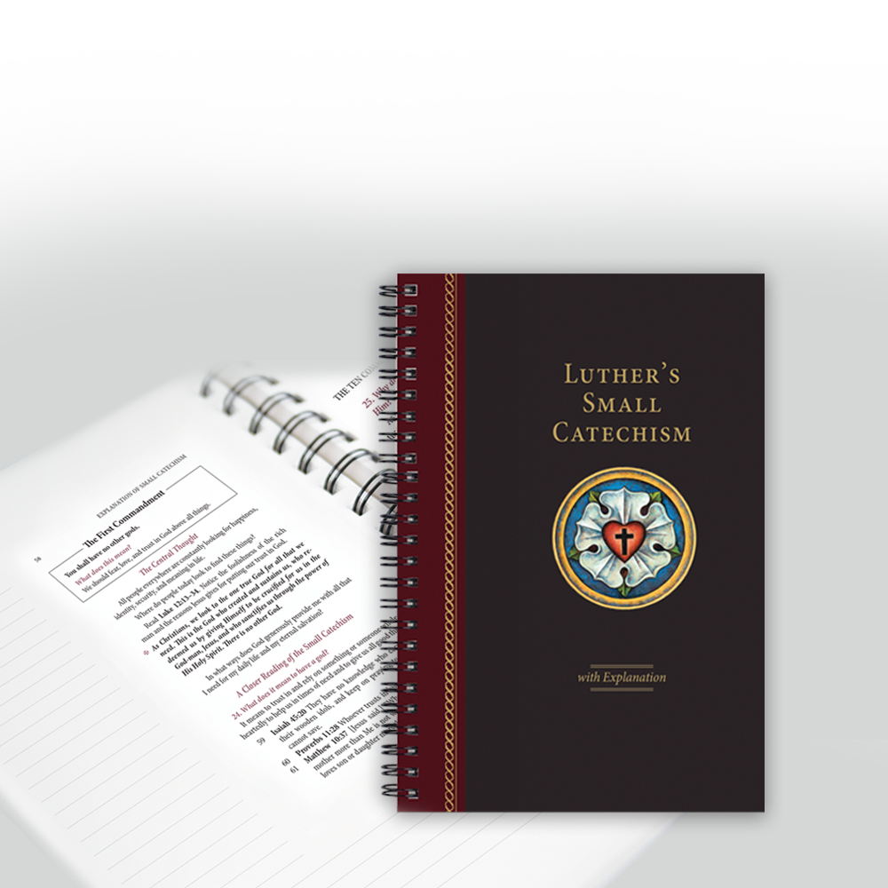 Luther's Small Catechism 2017 Edition: Spiral Bound